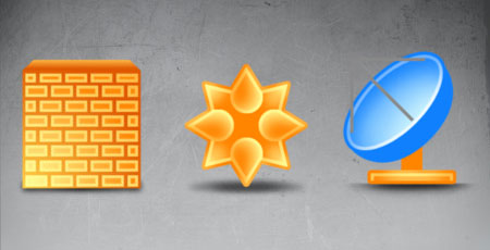 Скачать Clean networking icons