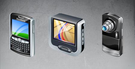 Скачать Real vista mobile icons