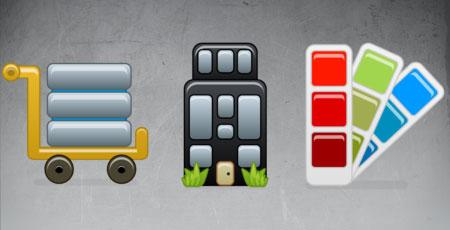 Скачать Beta web design icons