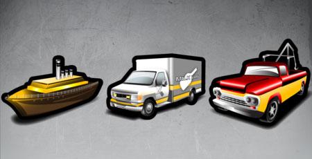 Скачать Stroke transportation icons