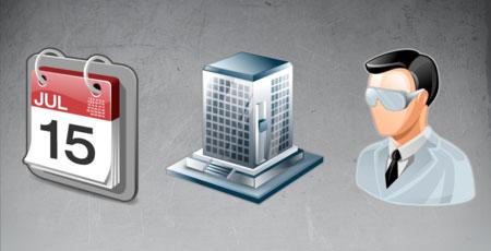 Скачать Real vista project managment icons