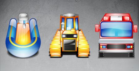 Скачать Lumina transportation icons