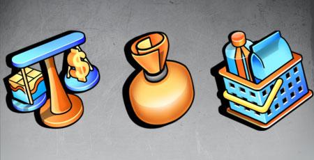 Скачать Sunny day project managment icons
