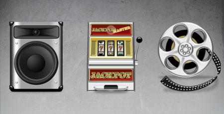 Скачать Impressions multimedia icons