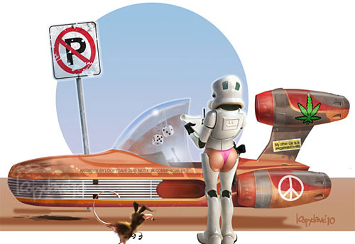 Перейти на Parking ticket by *Loopydave