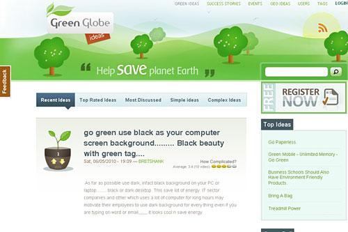 Перейти на Greenglobeideas