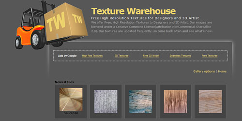 Перейти на Texture Warehouse Gallery