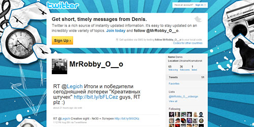 Перейти на @MrRobby_O__o