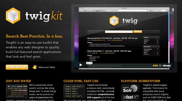 Перейти на Twigkit