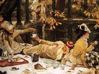 Скромное обаяние буржуазии на живописных полотнах Джеймса Тиссо