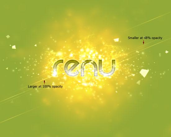 Создаем в фотошопе стильный эффект для текста с золотым отливом