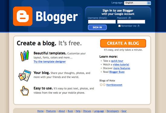 Коротко об историях успеха девяти самых популярных площадок для блогов