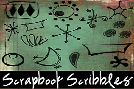 Скачать Scrapbook Scribbles Retro