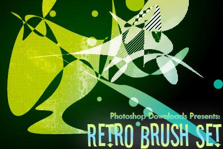 Скачать Retro Brush Set