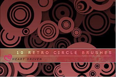 Скачать Retro Circle Brushes