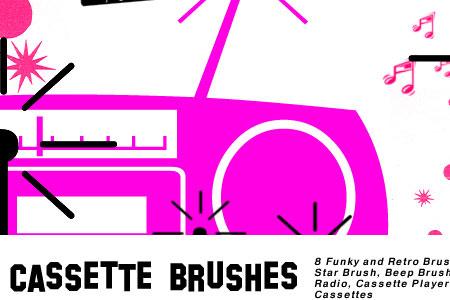 Скачать Retro Cassette Brushes