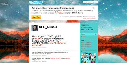 Перейти на @SEO_Russia