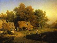 Проникновенные русские пейзажи в исполнении художника Федора Васильева