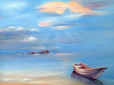 Маркова Наталья. Белая лодка