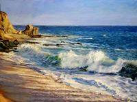 Замечательные морские пейзажи в работах наших современников