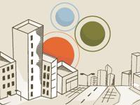 20 удачных примеров использования городских горизонтов в дизайне
