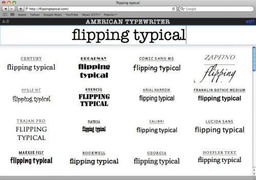 Перейти на Flipping Typical