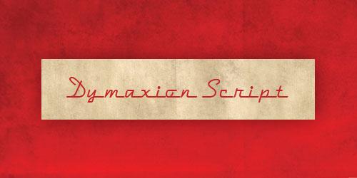 Скачать Dymaxion Script