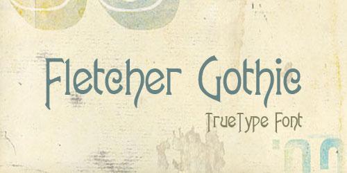 Скачать Fletcher Gothic
