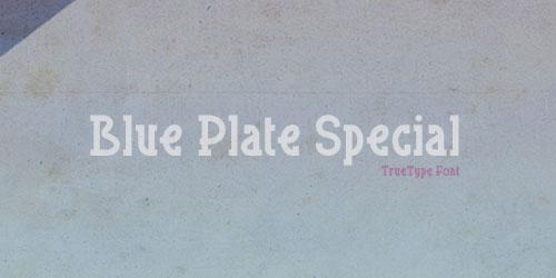 Скачать Blue Plate Special