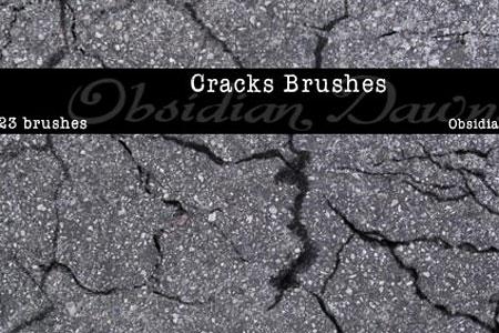 Скачать Cracks Photoshop Brushes
