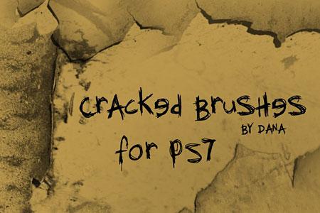 Скачать Cracked Brushes