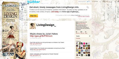 Перейти на @LivingDesign_