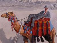 Сюжетная фантасмагория и красочный хаос в работах современных художников