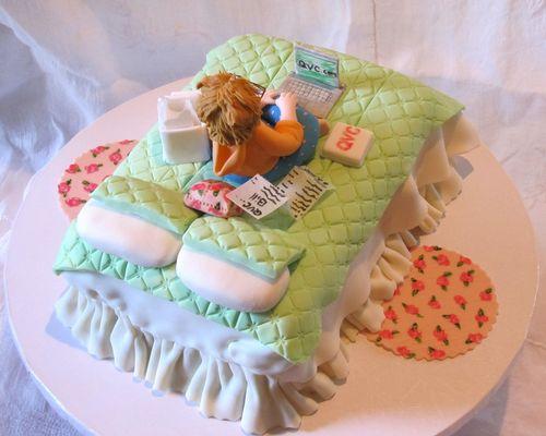 Перейти на QVC Sugar Shopper Birthday Cake by EB Cakes