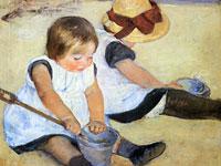 Трогательная детская тема и родительская любовь на картинах Мэри Кассат