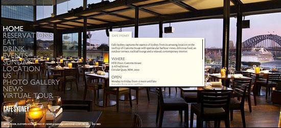 Перейти на Cafe Sydney