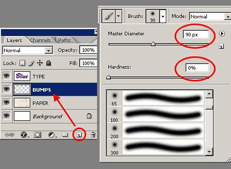 Создаем в фотошопе акварельный эффект для текста на мокрой бумаге