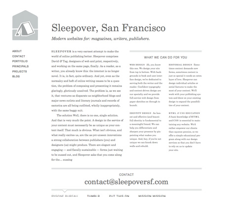 Перейти на Sleep Over Sf