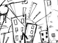 Скачать кисти с изображением скетчей, эскизов и карандашных набросков