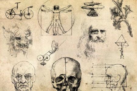 Скачать Random Da Vinci Sketches