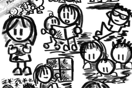 Скачать Doodle Buddies--20 PS brushes