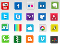 Скачать бесплатно 680+ отличных социальных иконок для вашего дизайна