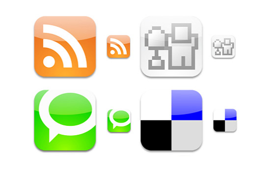 Скачать Social Bookmark Icons