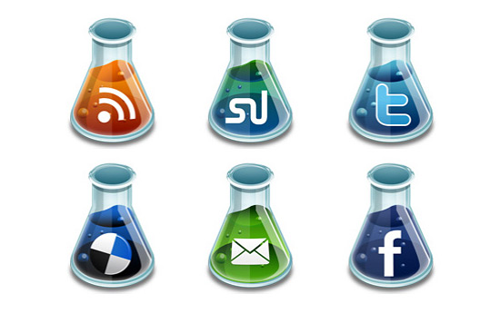 Скачать Social Media Beakers