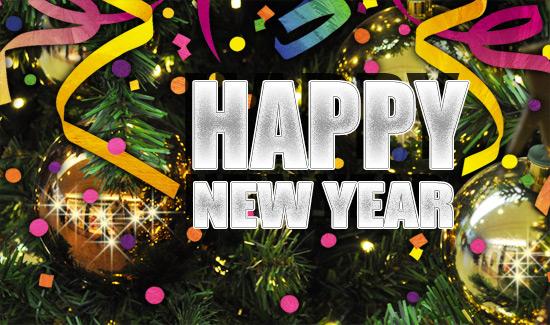Создаем в фотошопе новогодний праздничный постер к 2011 году
