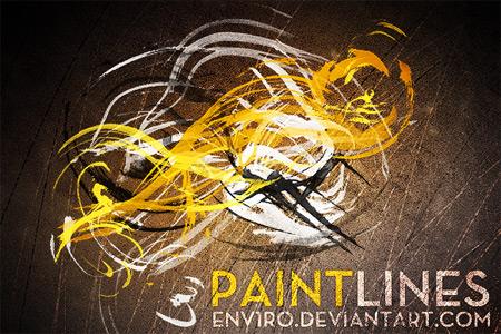 Скачать Paint Lines brushes