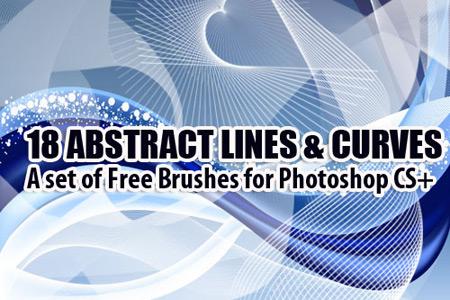 Скачать Abstract Curves Brushes