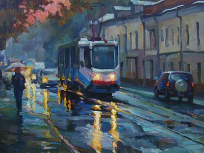 Волков Сергей. Московский трамвай