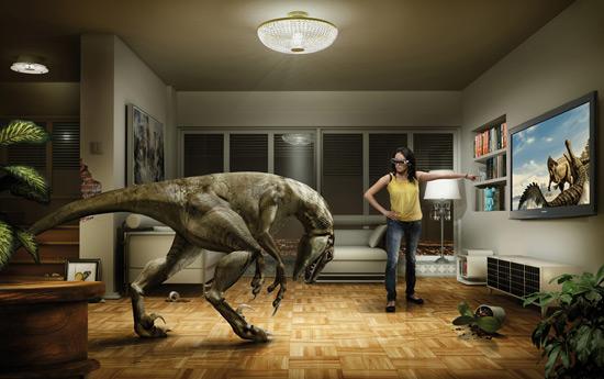 Перейти на Panasonic 3D TV: Dino