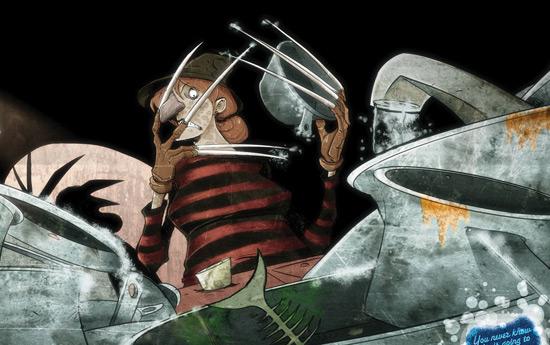 Перейти на Scotch-Brite Non-Scratch Scrub Sponge: Freddy